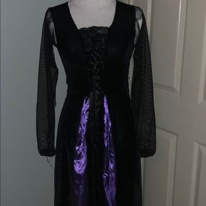 Big Kids Witch Gown Costume